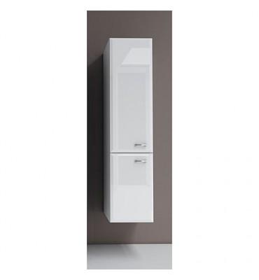 Meuble haut Serie MAc 2 portes blanc brillant ouverture gauche lxHxP 300x1277x320x mm