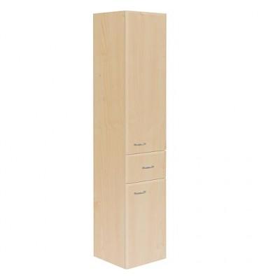 Armoire haute Serie MAC 2 portes 1 tiroir, decor poire ouverture gauche lxHxP 300x1440x320 mm