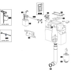 Support robinet flotteur Schwab 239299 N° de commande : 93 947 16